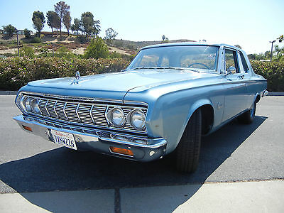 1964 Plymouth Savoy 2dr post, Max Wedge clone 1964 Plymouth Savoy 2dr Post Max Wedge Clone