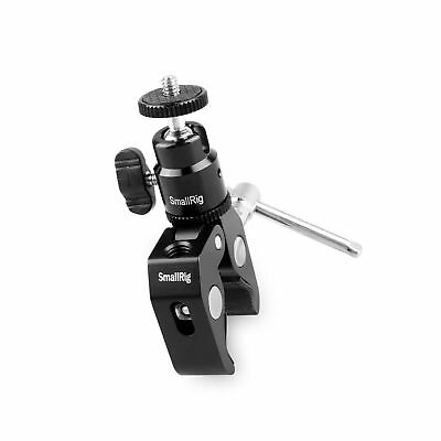Smallrig Clamp Mount V1 w/ Ball Head Mount Hot Shoe Adapter and Cool Clamp - ...