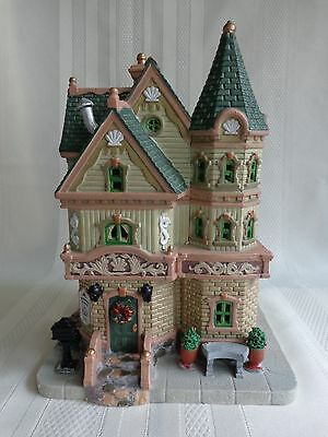 Lemax - Porcelain Lighted Christmas Village - Weatherford House 2013 - box