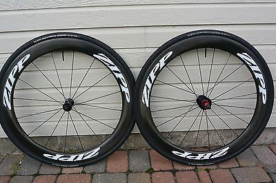 Zipp 404 Firecrest Wheel Set 700c Clincher 11 Speed