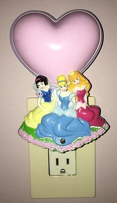 Disney Princess Multi-Color Night Light