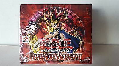 YU-GI-OH PHARAOH'S SERVANT USA 1ST Edition 24 count booster box