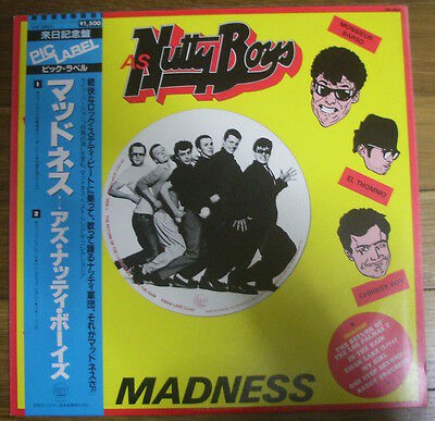 """Madness As Nutty Boys Japan Stiff 12"""" Ep Big Picture Label Series Ska"""