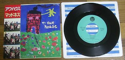 """Madness Our House Walking With Mr. Wheeze Japan 7"""" Single"""