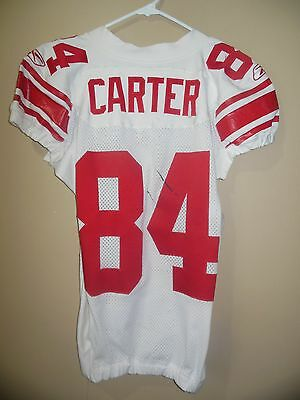New York Giants Game Used Nfl Football Jersey