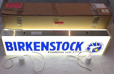 Light Box Sign Advertising As New In Box Double sided Made In Germany Free Post