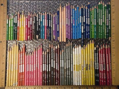 "Set of 95+ Vintage Laurentien ""Shorts"" Colored Pencils Crayons Discontinued"