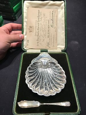 1882 caviar silver butter dish Commemorating The Prince of Wales Opening of