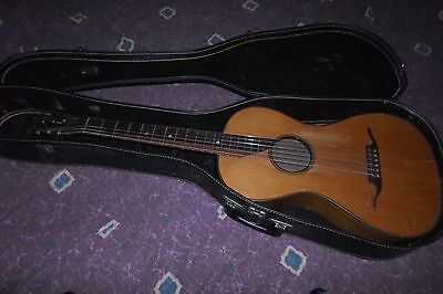 "Antique 1800's Gemany Parlor Guitar Ready to Play & Sounds Great 3/32"" action"
