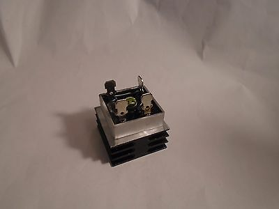 New 50A 1000V Metal Case Single Phase Bridge Rectifier With Heat Sink Kbpc5010
