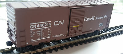 N Scale Canadian National CN 446214 40 ft Manitoba Box Car MTL N 24280