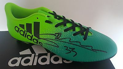 Gabriel Jesus Signed Adidas Football Boot Manchester City See Photo