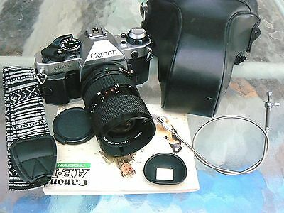Canon Ae-1 Program With Canon Fd 35-70Mm Lens *tested & Serviced *excellent+