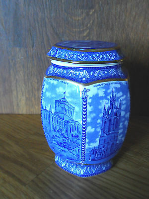 Wade China Tea Caddy  Northern Cathedrals Made For Ringtons Tea