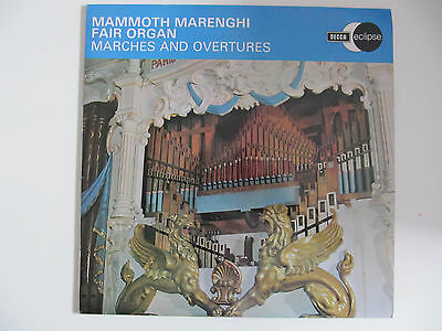 Mammoth Marenghi Fair Organ - Marches and Overtures (1965) LP