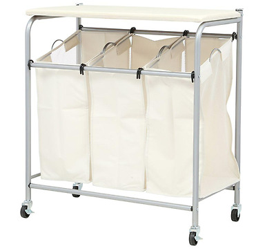 Honey Can Do Ironing And Sorter Combo Laundry Hamper With Built In