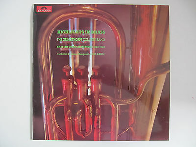 Highlights in Brass - The Grimethorpe Colliery Band (1970) LP George Thompson