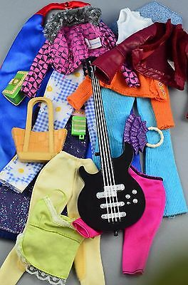 Barbie bundle clothes and accessories guitar handbags 1:6 scale  #4