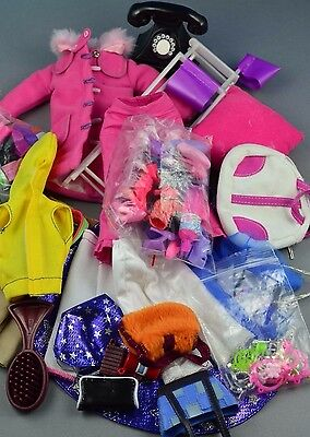 Barbie Bundle Sindy My Scene clothes shoes and accessories chair 1:6 scale #5