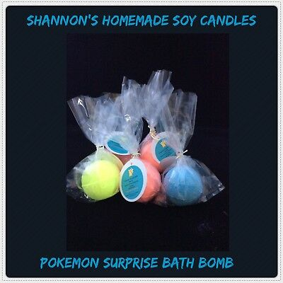 Shopkins Surprise & Pokémon Surprise Kids Bath Bombs
