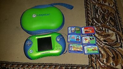 Leapster 2 console + Cars Disney, Thomas the Tank Engine and 4 other games