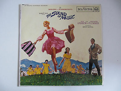 Rodgers & Hammerstein's 'The Sound of Music' (1965) LP Mint Condition Booklet