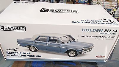 1/18 Holden Eh S4,   Amberly Blue  Holdens First Production Race Car