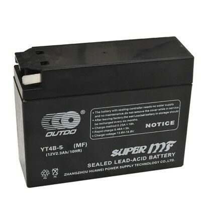 YT4B-5-BS GT4B-5-BS AGM Motorcycle Battery For Yamaha Suzuki Dirt Bike Motorbike
