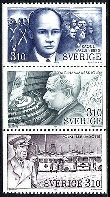 (Ref-10943) Sweden 1987  Humanity Issue Set of 3 Mint (MNH)