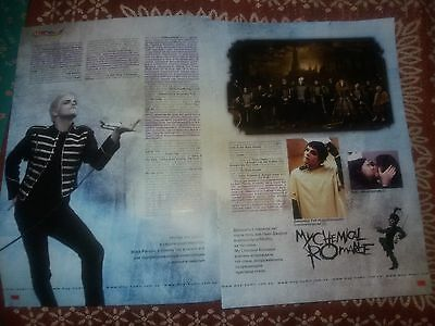 my chemical romance clippings