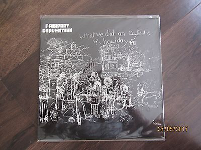 Fairport Convention What We Did On Our Holidays ORIGINAL ISLAND 1st EDITION LP