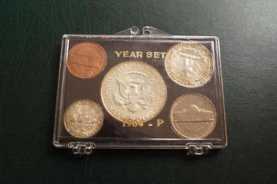 1964 -P  United States YEAR SET  SILVER COIN SET