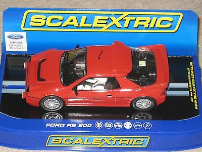 Scalextric Collectable Car - Ford RS 200 Collector Centre C3319