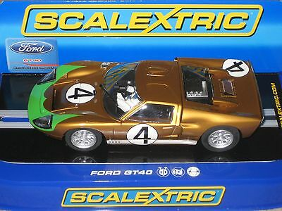 Scalextric Collectable Car - Ford GT40 #4 C3026