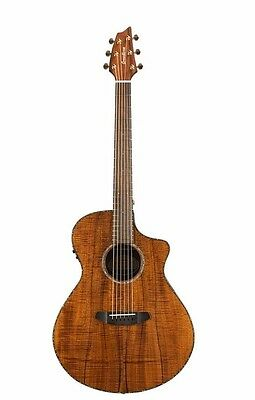 Breedlove Pursuit Exotic All Koa Concert CE Electro-Acoustic Guitar + Gigbag