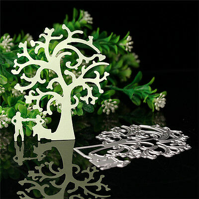 Tree Cutting Dies Stencil Scrapbooking Album Paper Card Embossing Craft