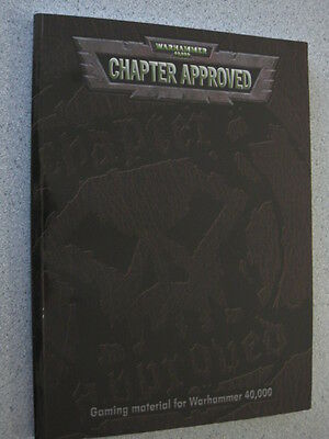 Warhammer 40k Codex Chapter Approved Book
