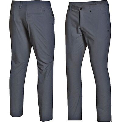 Under Armour Matchplay Tapered Trousers Summer 1253492 Rhino Grey UK 36/30