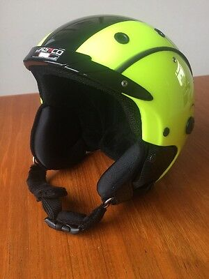 Casco Ski Helmet SP-3 Airwolf - neon yellow size M