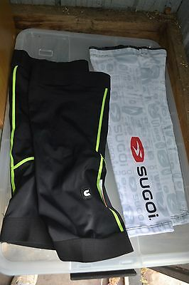 Sugio cycling arm and leg warmers – brand new. Cycling Bike