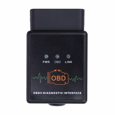 ELM327 Bluetooth 2.1 OBDII OBD2 Scanner Reader Interfaccia diagnosi Auto