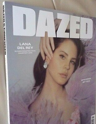 Brand New Dazed And Confused Magazine Spring Summer 2017 Lana Del Rey