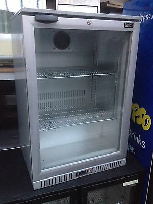 Single door bottle cooler:back bar chiller/beer wine fridge