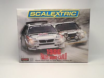 Scalextric C3480A 1986 Rally Monte-Carlo LIMITED EDITION Slot Car