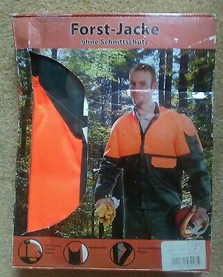 Brand new protective chainsaw jacket size M sealed box. Read description!!