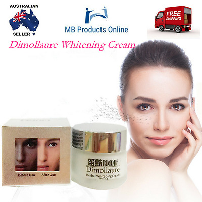 Strong Powerful Whitening Freckle Face Cream 20g Remove Melanin Acne