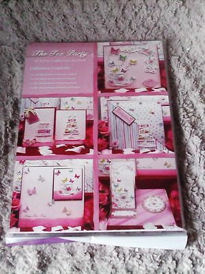 Hunkydory The Tea Party Luxury Card Kit