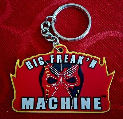 WWE Kane Big Freakin' Machine Rubber Keyring