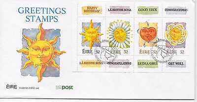Ireland, FDC 1994 Greetings Stamps