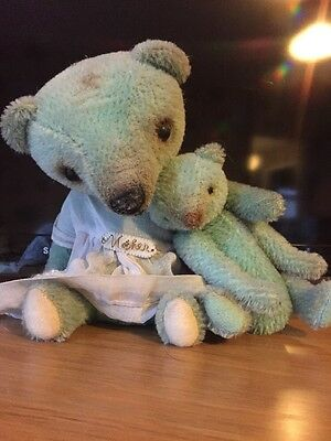 Eat Cake Vintage Bears Barbette Jensen Mother & Baby Mothers Day Artist Bears
